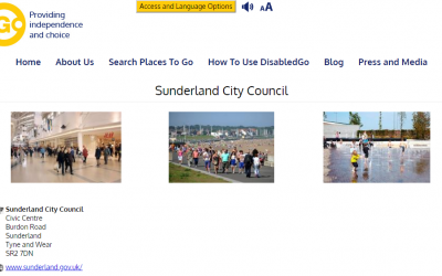 Accessibility Guides for places in Sunderland